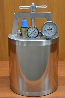 Автоклав-стерилизатор 12 л. из нерж. стали, для всех плит - Нефор 4 - фото 8703